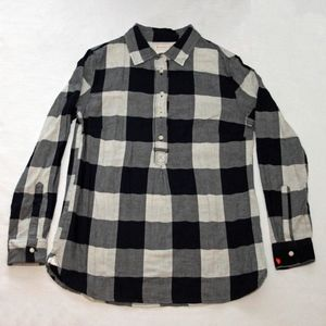 Crewcuts Navy and White Buffalo Check Tunic